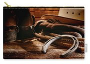 Cowboy Horseshoe Carry-all Pouch