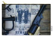 Cowboy - Law And Order Carry-all Pouch by Paul Ward