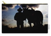 Cowboy Silhouette Carry-all Pouch