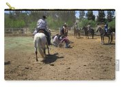 Cowboys At The Branding Carry-all Pouch