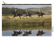 Cowboys Riding With Dogs Oregon Carry-all Pouch