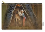 Cowgirl And Cowboy Carry-all Pouch