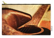 Cowgirl Boots And Country Music Carry-all Pouch