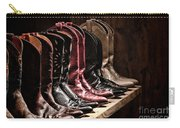 Cowgirl Boots Collection Carry-all Pouch