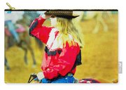 Cowgirl Waiting Carry-all Pouch