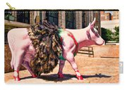 Cow Parade N Y C 2000 - Prima Cowlerina Carry-all Pouch