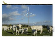 Cows And Windturbines Carry-all Pouch