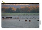 Cows At Sunrise Carry-all Pouch