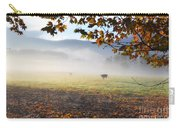 Cows In The Fog Carry-all Pouch