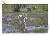 Cows In The Pantanal Carry-all Pouch