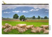 Cows On The Green Field Carry-all Pouch