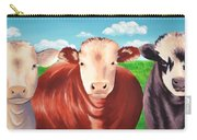 Cows Out To Pasture Carry-all Pouch