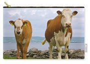 Cows Carry-all Pouch by Terry Whittaker