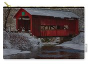 Cox Brook Runs Under Covered Bridge Carry-all Pouch