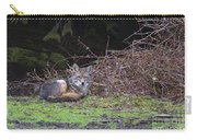 Coyote Curled Up Carry-all Pouch