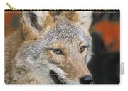 Coyote In Maple Carry-all Pouch
