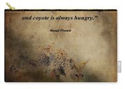 Coyote Proverb Carry-all Pouch