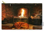 Cozy By The Fire Carry-all Pouch