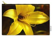 Cozy Yellow Daylily Carry-all Pouch