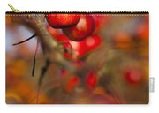 Crab Apple Bright Carry-all Pouch