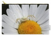 Crab Spider On Daisy Carry-all Pouch