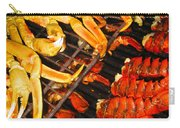 Crab Vs. Lobster Carry-all Pouch