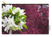 Crabapple Blooms Carry-all Pouch