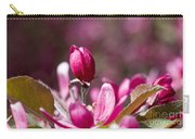 Crabapple Bud Carry-all Pouch