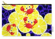 Crabs On Lemon Carry-all Pouch