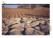 Cracked Mud - Sand Ripples Carry-all Pouch