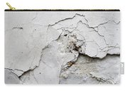 Cracked Stucco - Grunge Background Carry-all Pouch