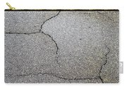 Cracked Tarmac Carry-all Pouch