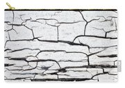 Cracked Wood Pattern Carry-all Pouch