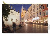 Cracow By Night In Poland Carry-all Pouch