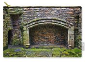 Craigsmillar Castle Kitchen Fireplace Carry-all Pouch