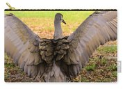 Crane Spreading Wings Carry-all Pouch