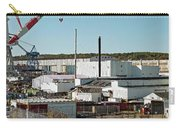 Cranes At Metal Factory, Bath Carry-all Pouch
