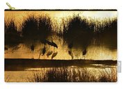 Cranes On Golden Pond Carry-all Pouch