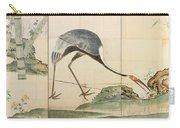 Cranes Pines And Bamboo Carry-all Pouch