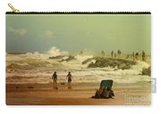 Crash Of The Waves Carry-all Pouch
