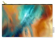 Crashing At Sea Abstract Painting 4 Carry-all Pouch