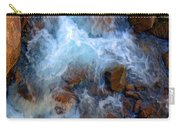 Crashing Falls On Rocks Below Carry-all Pouch