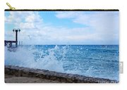 Crashing Waves In Cozumel Carry-all Pouch