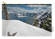 Crater Lake And Wizard Island In June Carry-all Pouch