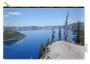 Crater Lake Scenic Panorama Carry-all Pouch