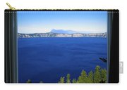 Crater Lake Through Our Window Carry-all Pouch