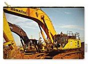 Crawler Excavator - Komatsu - Digger - Machinery Carry-all Pouch