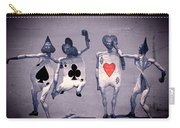 Crazy Aces Carry-all Pouch by Bob Orsillo