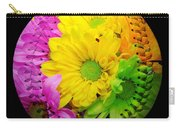 Crazy Daisies Baseball Square Carry-all Pouch