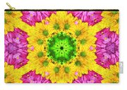 Crazy Daises - Spring Flowers - Bouquet - Gerber Daisy Wanna Be - Kaleidoscope 1 Carry-all Pouch
